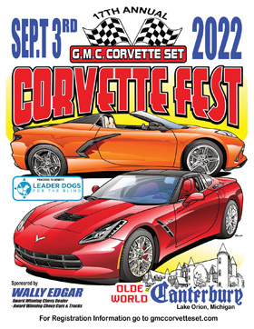Corvette Fest at Canterbury Village